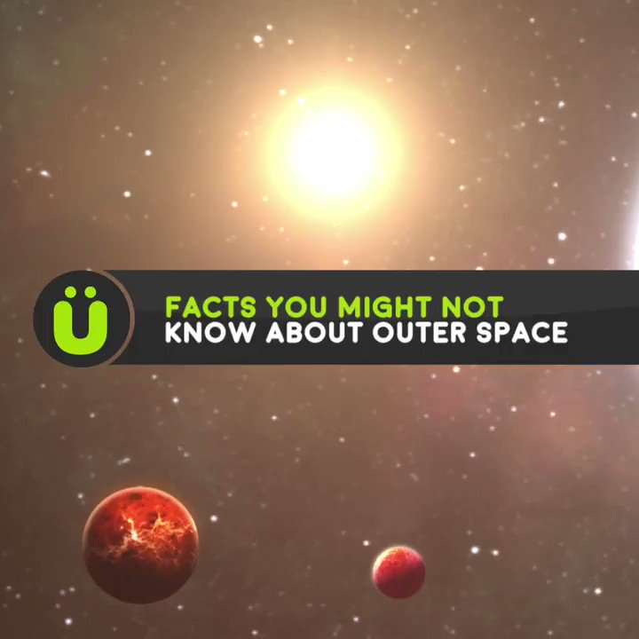 Facts you didn't know about outer space.👽