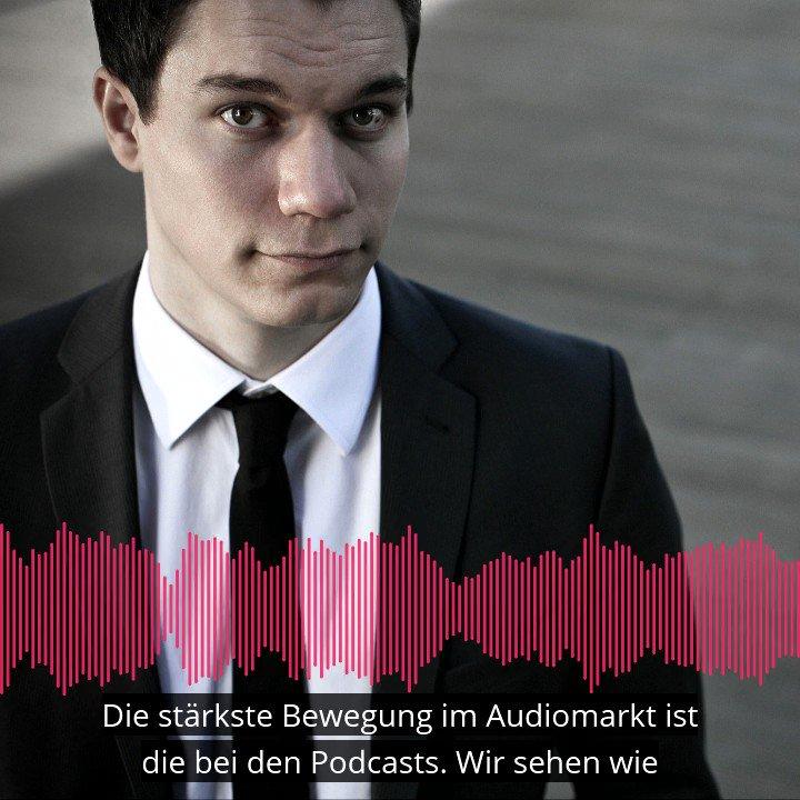 Podcasts machen mittlerweile fast alle. Dennis @Horn hat uns erklärt, wo dabei die großen Chancen für den Audiomarkt liegen. https://t.co/U2hFqilfWi