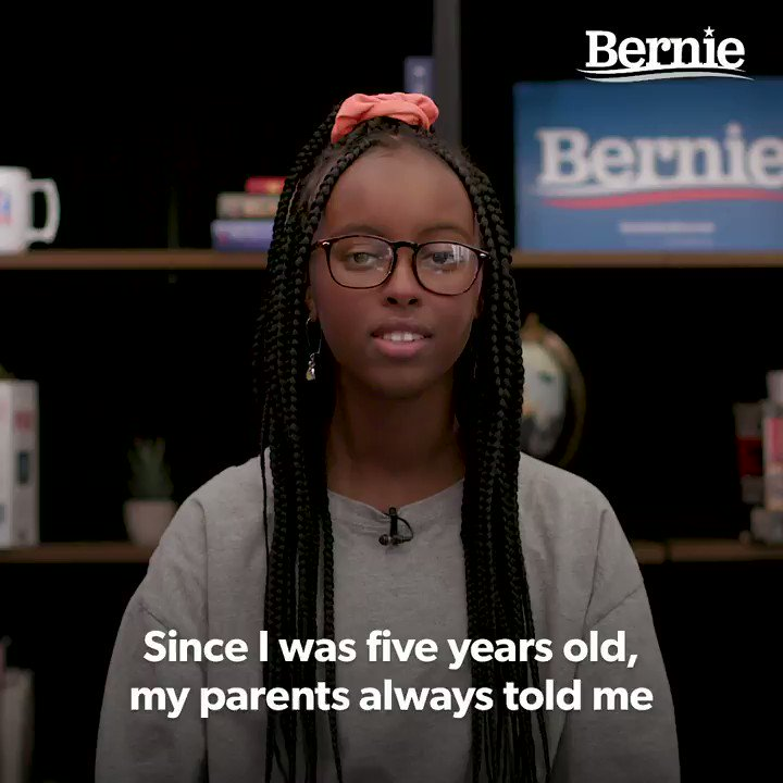 """""""Historically, movements have had young people at the forefront and the climate movement is no exception.  Bernie has been there since Day One fighting alongside all the young people across the country.""""  -@israhirsi, co-founder of @usclimatestrike https://t.co/aMi2lKtKlY"""