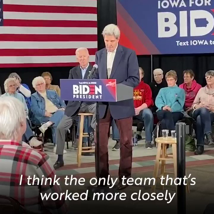 Couldn't have said it better myself! I'm honored to have @JohnKerry join me for the #NoMalarkey barnstorm.