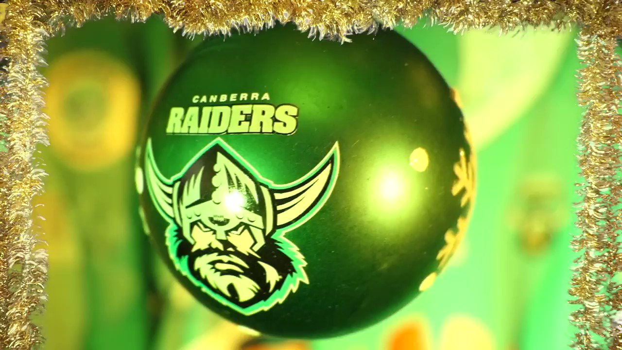 Merry Christmas from the Canberra Raiders! 🎅🎄🎁  We hope you've had as much fun this year as we have!   #WeAreRaiders https://t.co/jOnv9v6tZW