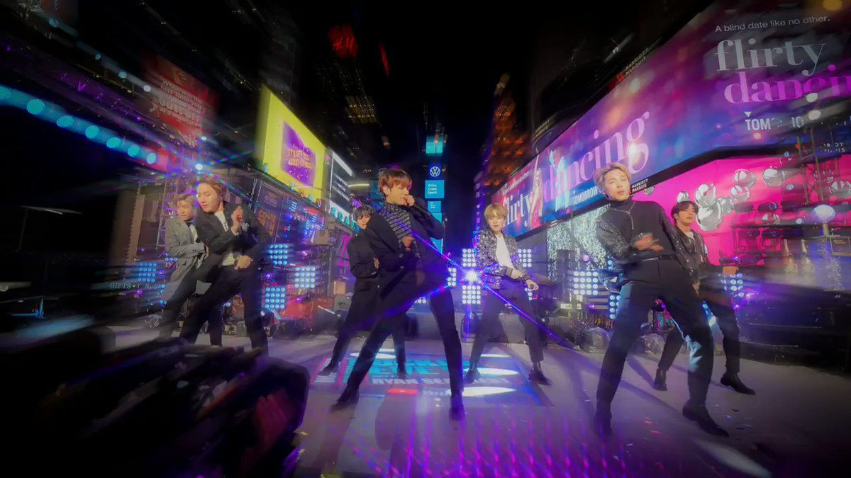 Oh, my, my, my! Who else is still thinking about @BTS_twt on #RockinEve? 💜