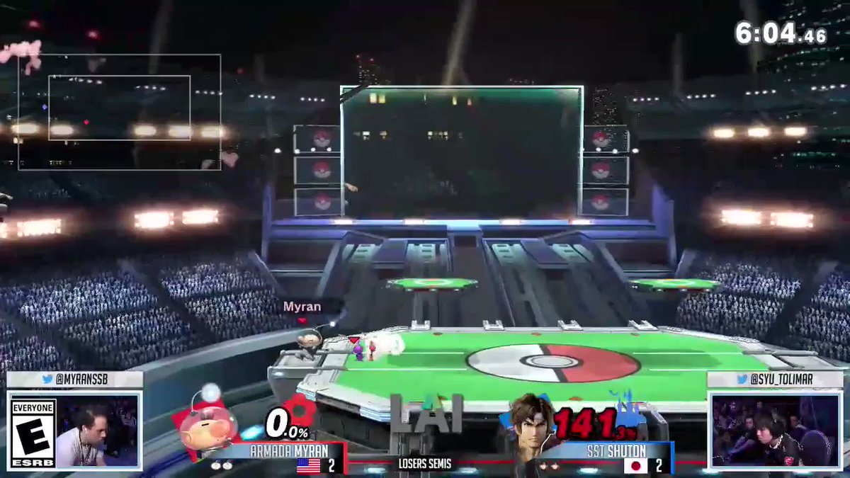Who remembers this moment from @ComeToFrostbite 2019? @syu_tolimar made some moves that viewers will never forget! Place top 4 in the #SmashBrosUltimate NA Online Open February 2020 for your shot at the big stage! #ComeToFrostbite  Register: