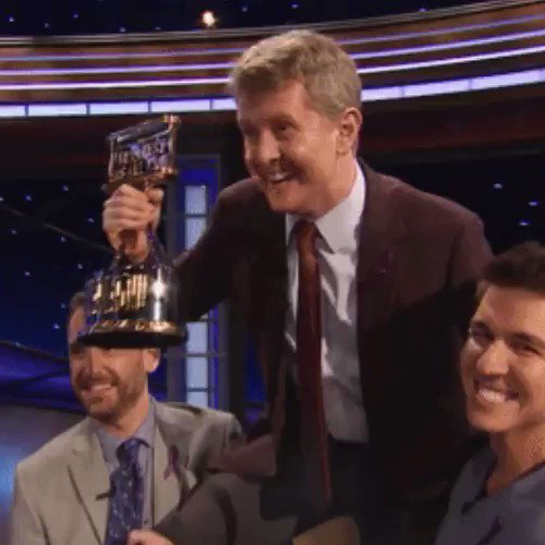 """""""Being a nerd really pays off sometimes."""" – @KenJennings, the #JeopardyGOAT"""