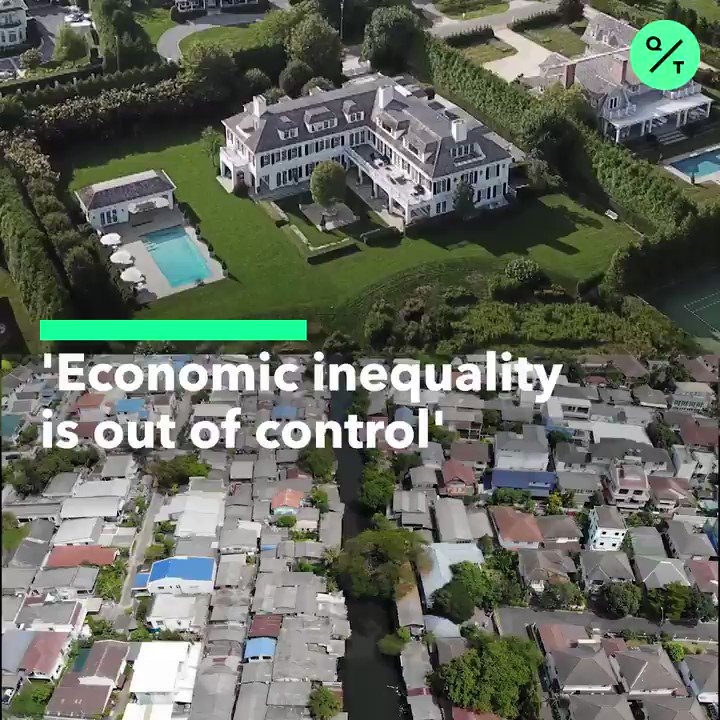 The world's 2,153 billionaires have more wealth than 4.6 billion people, says @Oxfam in a report released before January's World Economic Forum #WEF20  More @business: