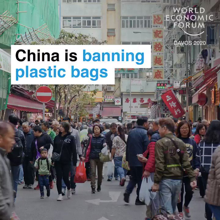 1.4 billion people cutting out plastic.   📕 Read more:  #howtosavetheplanet #wef20