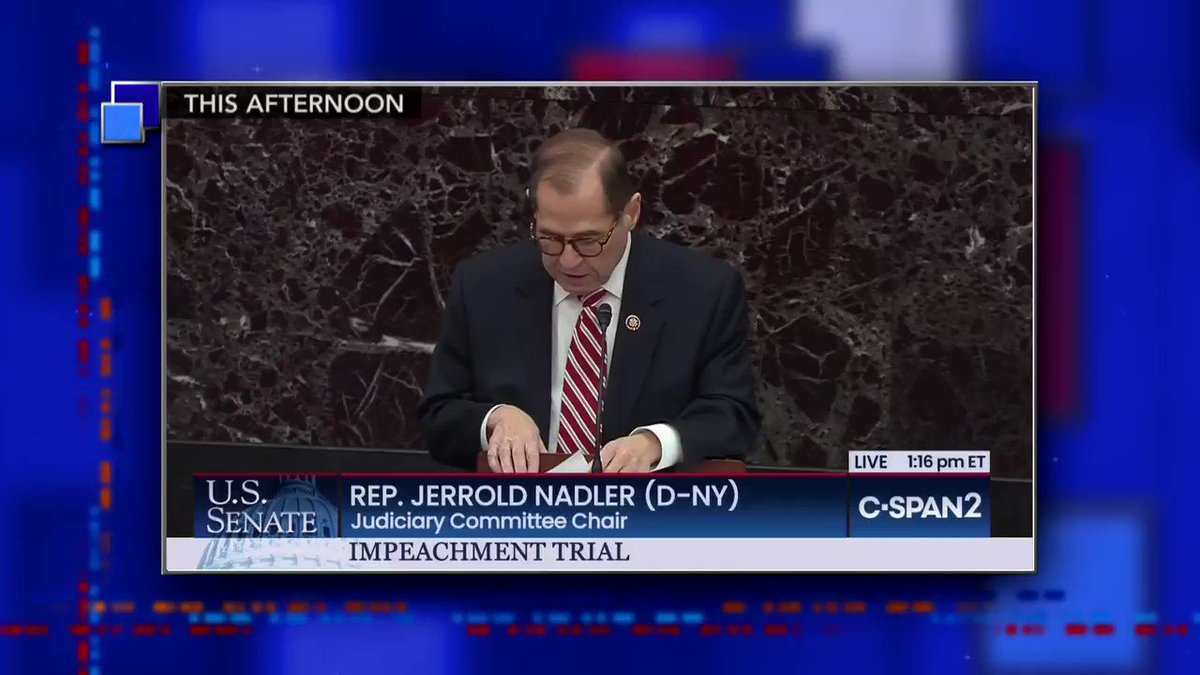 "Rep. Jerry Nadler has the ABCs of ""High Crimes and Misdemeanors,"" @StephenAtHome has the impeachment 123s! #LSSC"