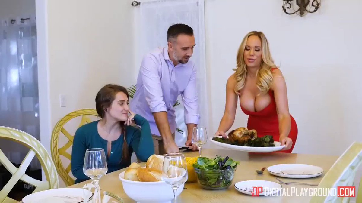 Milf's Cherie DeVille and Olivia Share a Cock