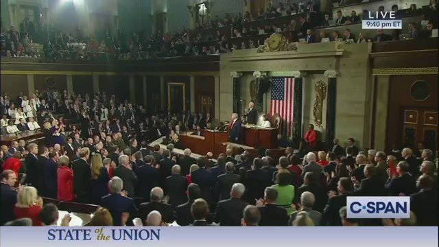 """""""We will always protect patients with pre-existing conditions. And we will always protect your Medicare and we will always protect your Social Security. Always.""""  - President @realDonaldTrump   #SOTU2020"""