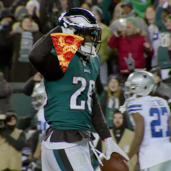 🍕 Grab yourself a slice this #NationalPizzaDay 🍕  #FlyEaglesFly