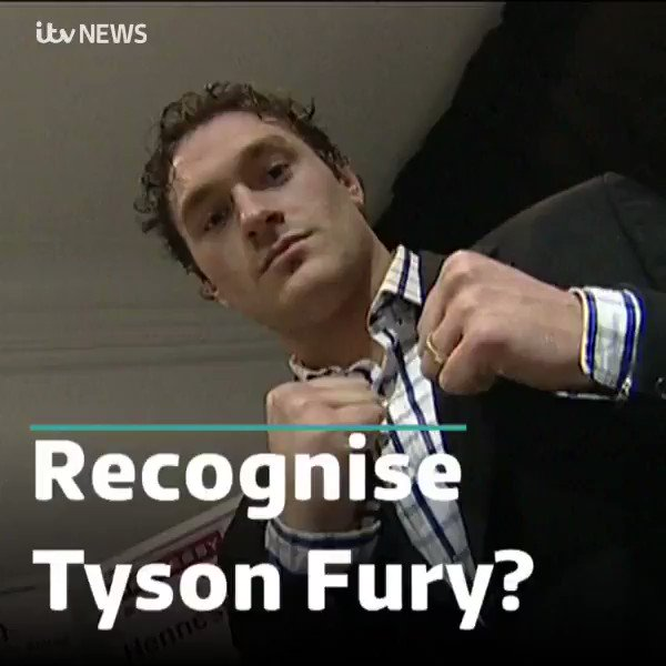 He said it...  Congratulations Tyson Fury! 🥊  #archive #throwback #tysonfury #teamfury #boxing