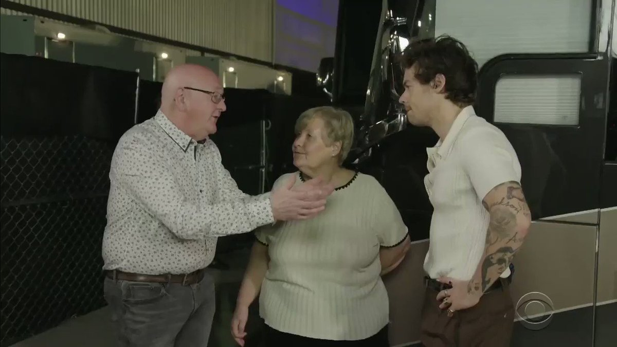 There is truly nothing more wholesome on this earth than Malcolm Corden teaching Harry Styles how to salsa dance  Watch the rest of @JKCorden's parents trip to Miami: