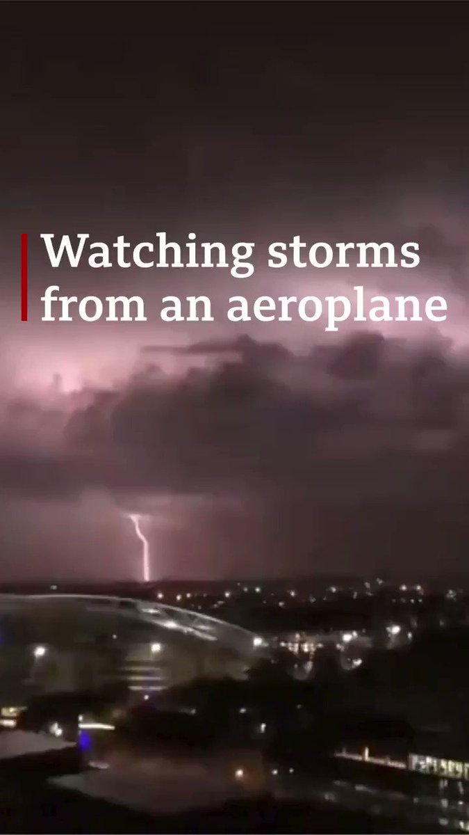 Thunderstorms have battered Sydney, with over 60,000 lightning strikes in the region  But what's it like flying towards them? ✈️