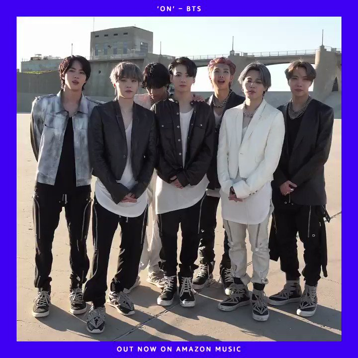 """.@BTS_twt return with #MAP_OF_THE_SOUL_7 and its lead single, """"ON""""! Which tracks are giving you all the thrills right now?  #BTSComeback2020 #WeONwithBTS"""