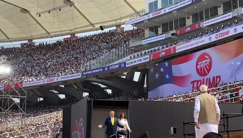 Unparalleled vibrancy at the world's largest stadium. Watch... https://t.co/RupPFsOq2z