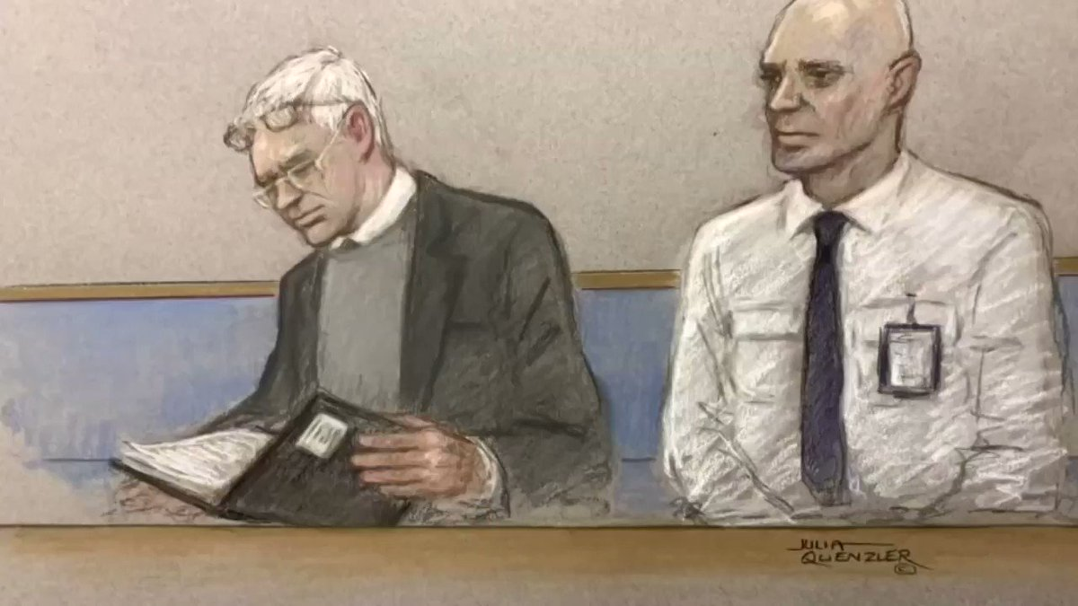 Julian Assange appeared in court regarding the U.S. request for extradition
