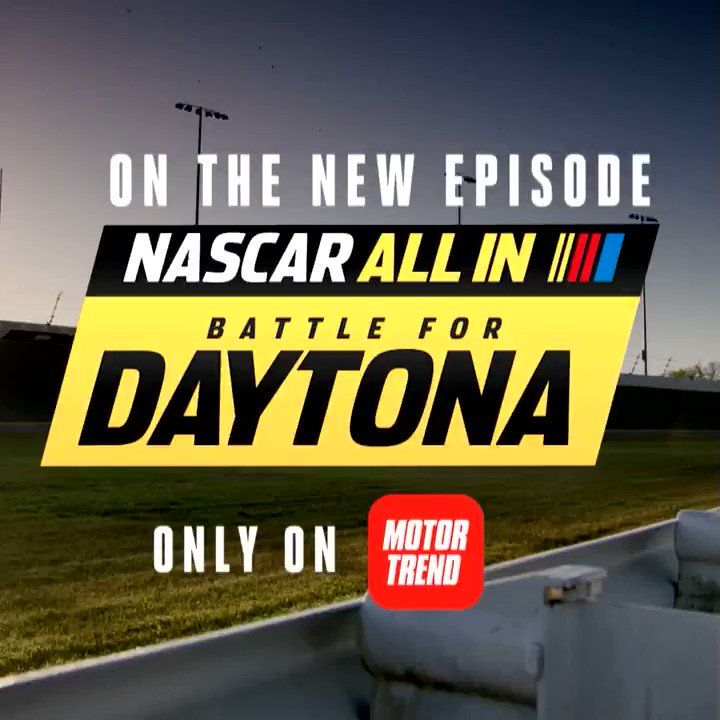It's go time as the drivers pack up and head to DAYTONA. Watch an all-new episode of NASCAR ALL IN: Battle For Daytona now with the @MTOnDemand App! Start your free trial now to start streaming today! 👉