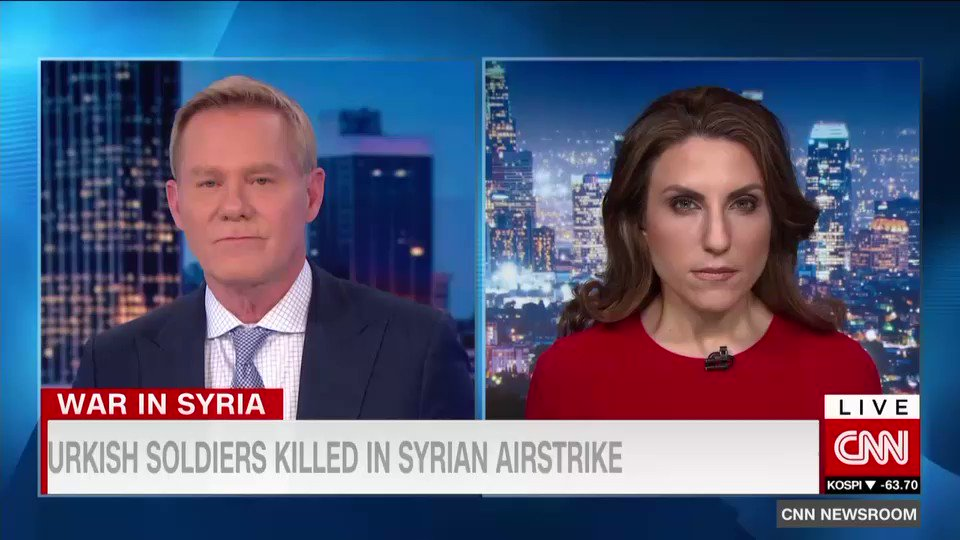 The horrors of the million #Syria refugees as reported by @arwaCNN casts a shadow over the fighting between #Turkey and #Syria - and #Russia ... Risks of #NATO member crossing swords with Russia?   Don't rule it out.  A conversation with @gaylelemmon