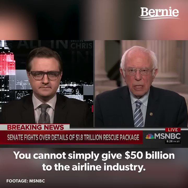 We cannot just give corporations money to do anything they want. We have to ensure that money is going to protect working people.