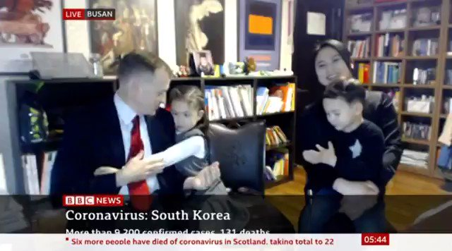 omg our favourite family have returned to bbc world news