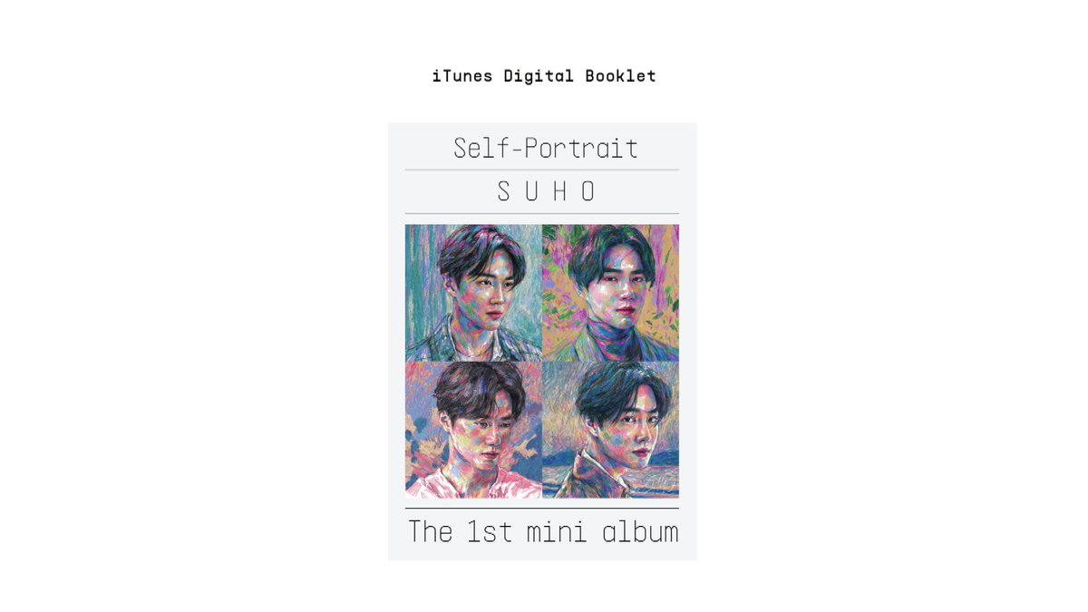 #SUHO's 1st Mini Album '#Self_Portrait' is out now!  Get SUHO's unrevealed photos and listen to the commentary of each track by SUHO (Eng script included) by downloading the album on iTunes.   ☑️Download Link:   #수호 #엑소 #EXO #weareoneEXO #사랑하자