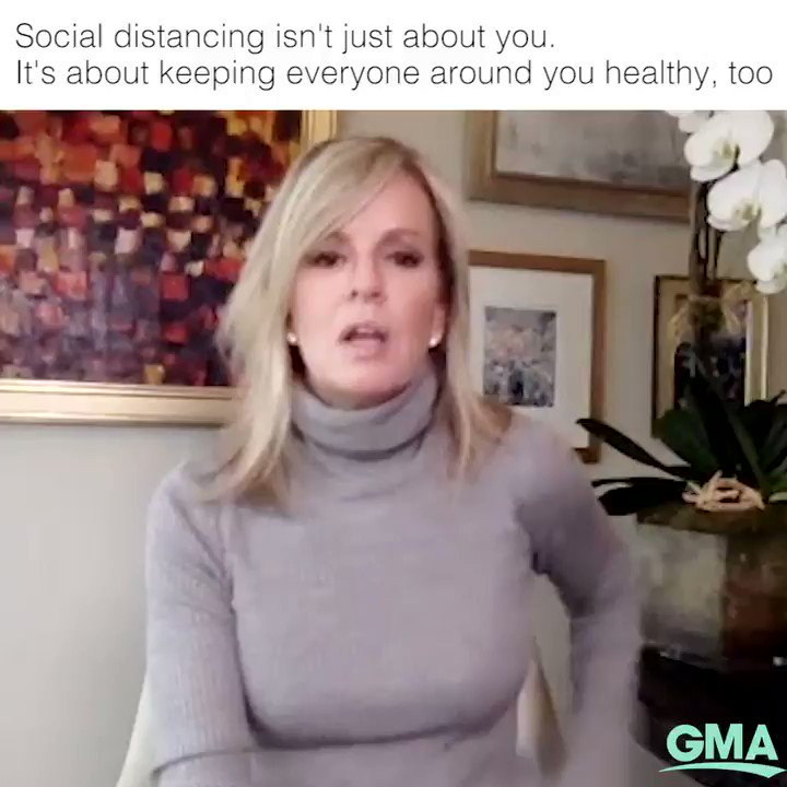 Social distancing isn't just about you. It's about making sure everyone around you stays healthy, too.  @ABC News Chief Medical Correspondent @drjashton explains how you can protect yourself by keeping your distance from others.