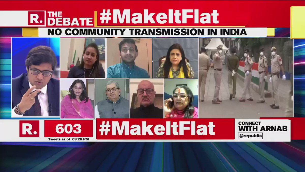 #MakeItFlat | No leeways should be given to anyone, they are risking the lives of thousands of people. What has happened today in Nizamuddin is criminal: @AnupamPKher, Actor