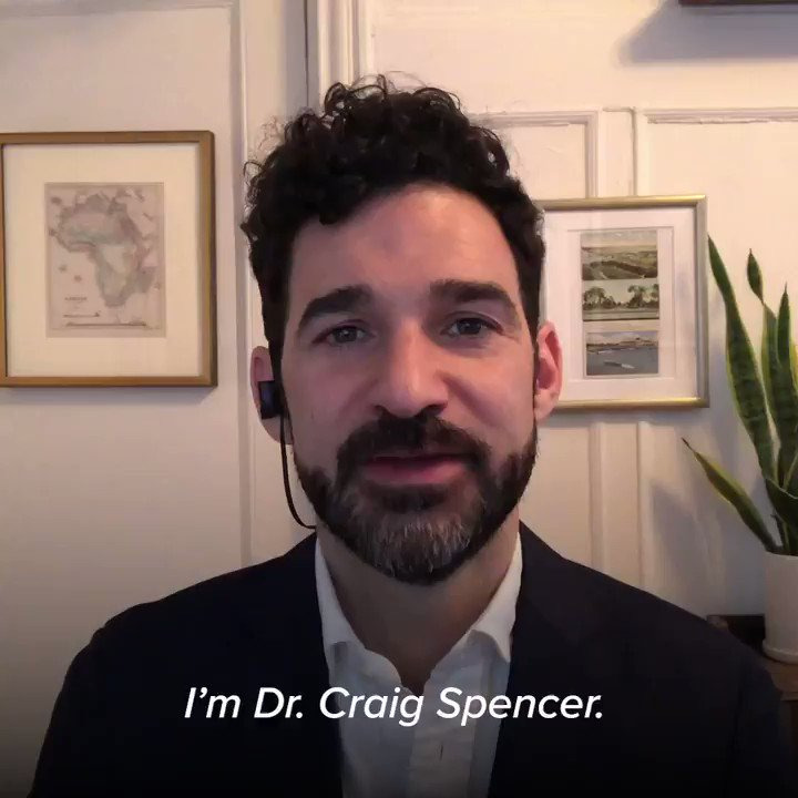 The best way to thank our doctors and healthcare professionals is to listen to them.  Here's one doctor's message from the front line to his fellow New Yorkers:  #NationalDoctorsDay