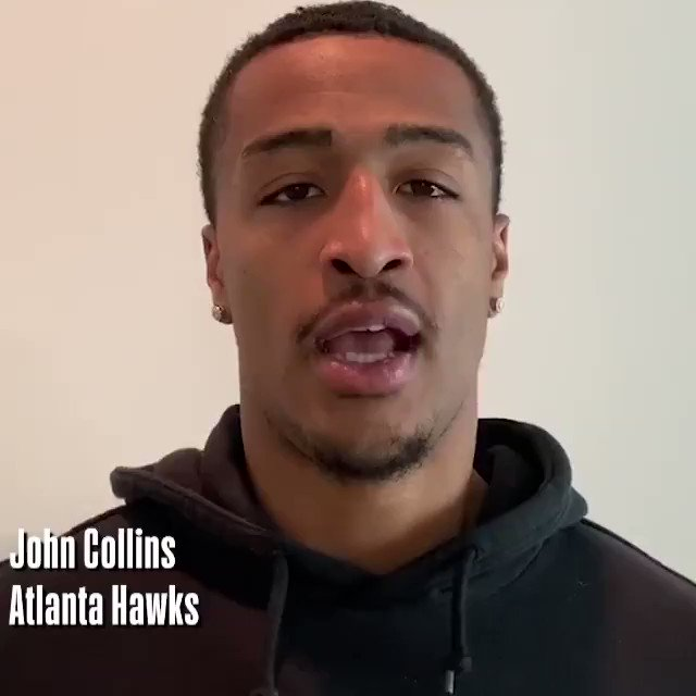 A message from @jcollins20_, @CJMcCollum and @AndreDrummond.   #NBATogether #ActsofCaring