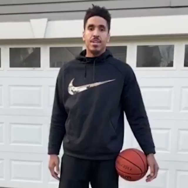 Stay ready‼️  The Plank Dribble Drill by Malcolm Brogdon from the @Pacers is great for ball handling and core strength 💪 #JrNBAatHome #NBATogether
