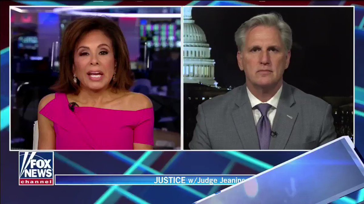 """""""They should close those wet markets and not have them moving forward….Their numbers are a lie, they created this. We cannot allow this to continue. President Trump warned us from the very beginning,"""" @GOPLeader says in response to China's handling of the Coronavirus."""