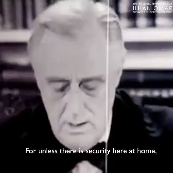 In 1944, FDR proposed a Second Bill of Rights that states every American has the right to:  -A job  -Medical care  -A decent home  -A good education -An adequate wage -Economic protection during sickness, accident, old age, or unemployment   It's time to revive it. https://t.co/DzSgDkWPiH