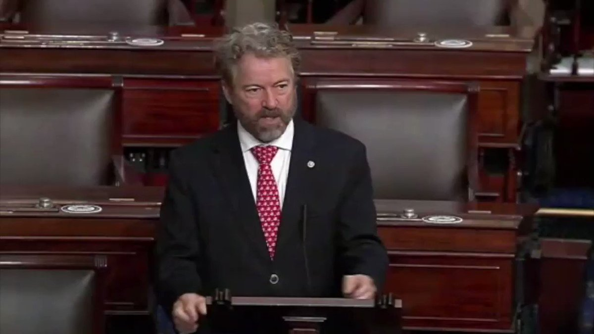 """Sen. Rand Paul: """"One of the most notorious of these liars was James Clapper."""""""