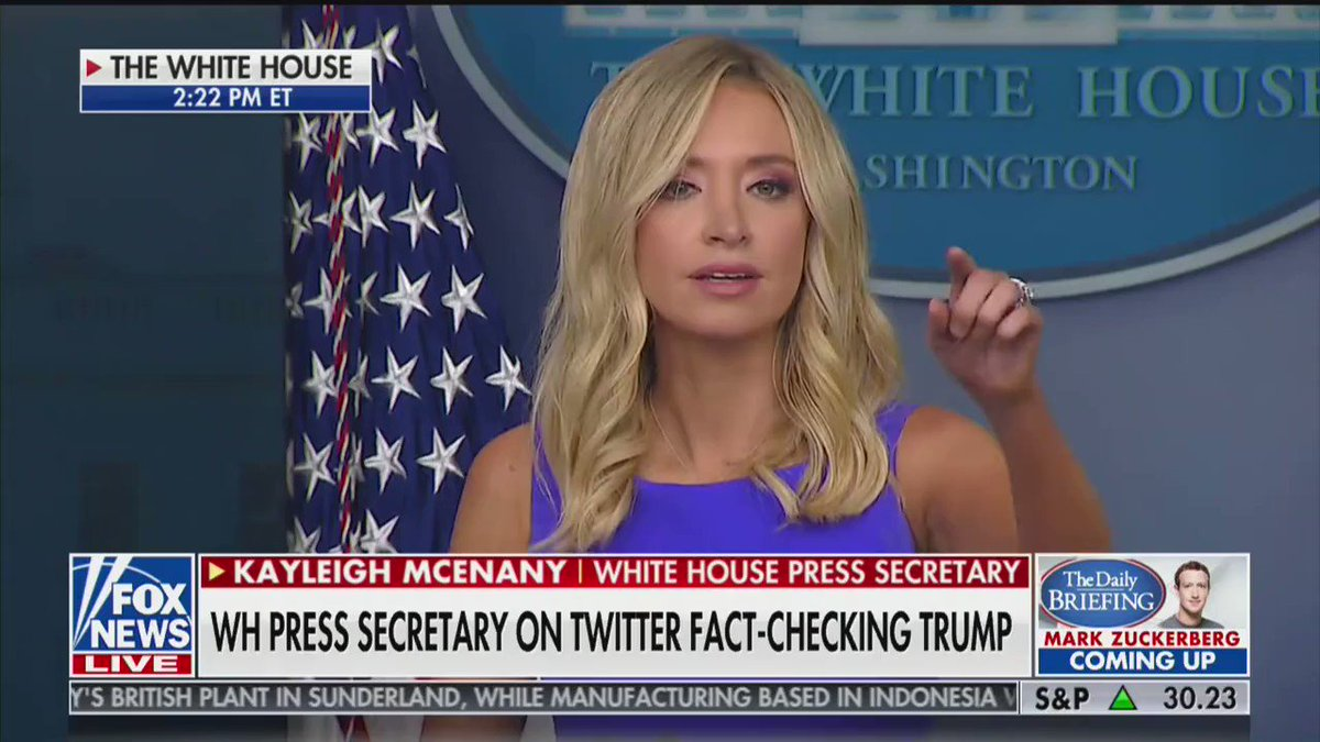 """White House Press Secretary @KayleighMcEnany says President @realDonaldTrump """"wants justice to be served"""" in the #GeorgeFloyd case"""