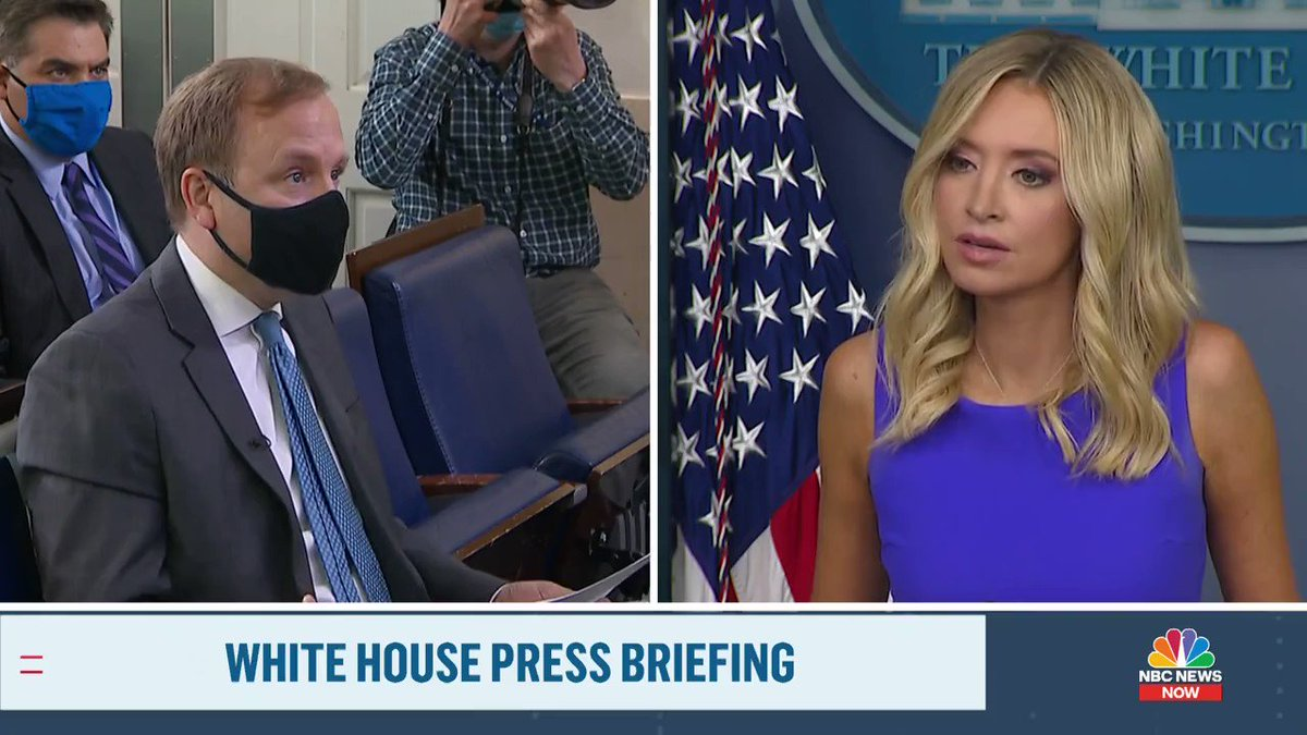 White House Press Secretary @KayleighMcEnany highlights many instances of mail-in ballot voter fraud