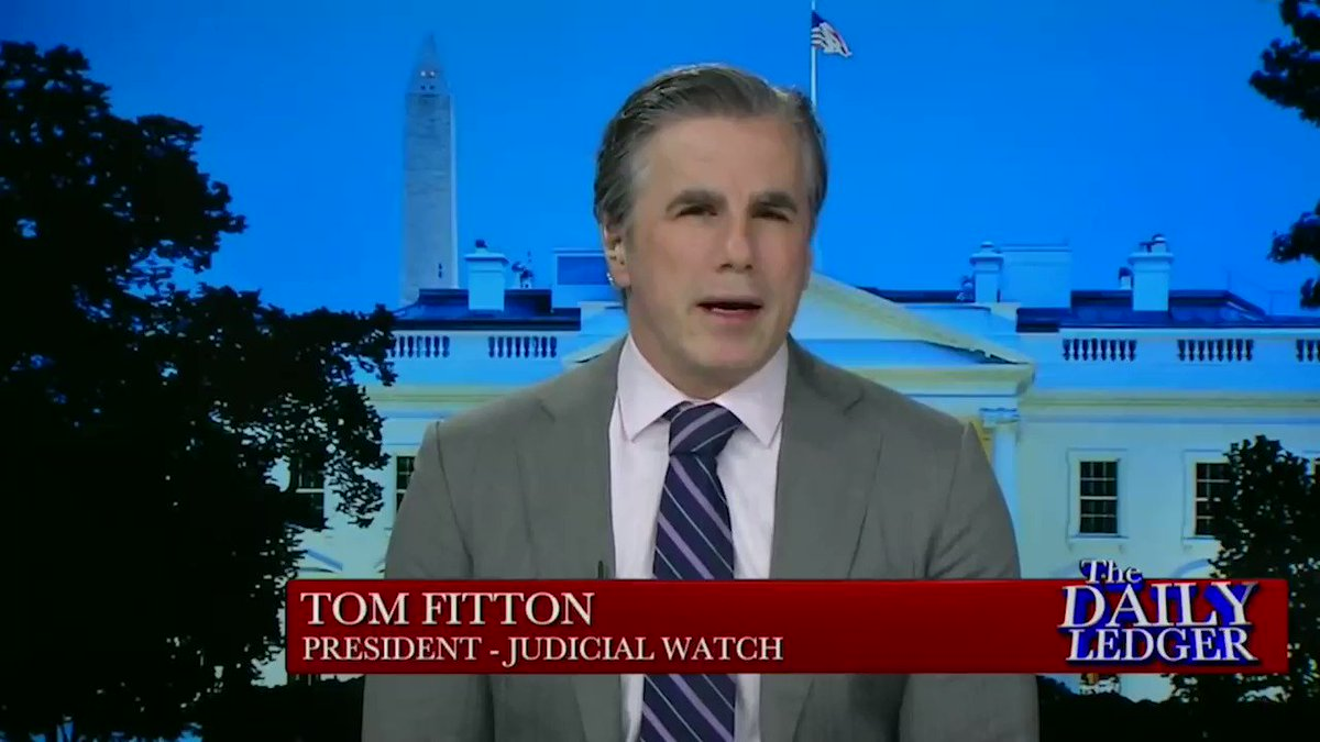 ".@JudicialWatch President @TomFitton on ""Vote-By Mail"": ""It's unconstitutional. Changes to election law can only take place with the permission of the legislature which hasn't been granted to Gov. Newsom.""  Read:"