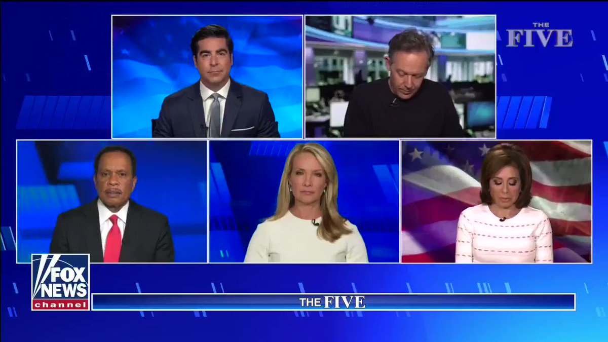 """""""Trump is getting blamed for tweets while Democrats do nothing and cities burn. I'm looking at action now - and @realdonaldtrump 's taken action."""" #TheFive"""