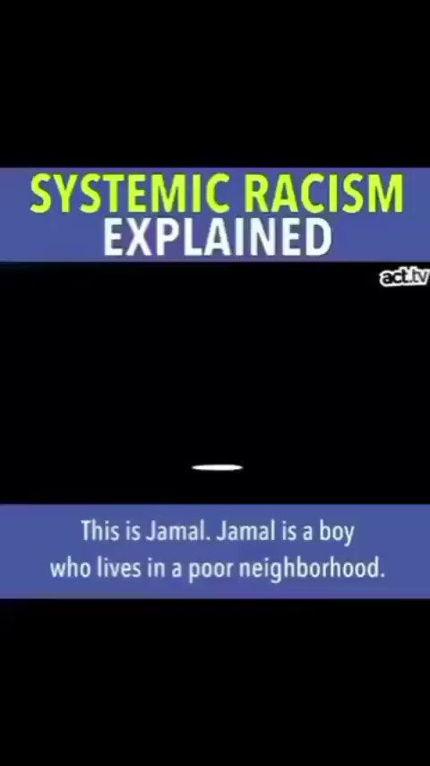Some of you are still confused about Systemic Racism and Implicit Bias.. If you care.. Take a min and LEARN..  We just can't TRIM the branches.. We need to get to the ROOT of the issues..