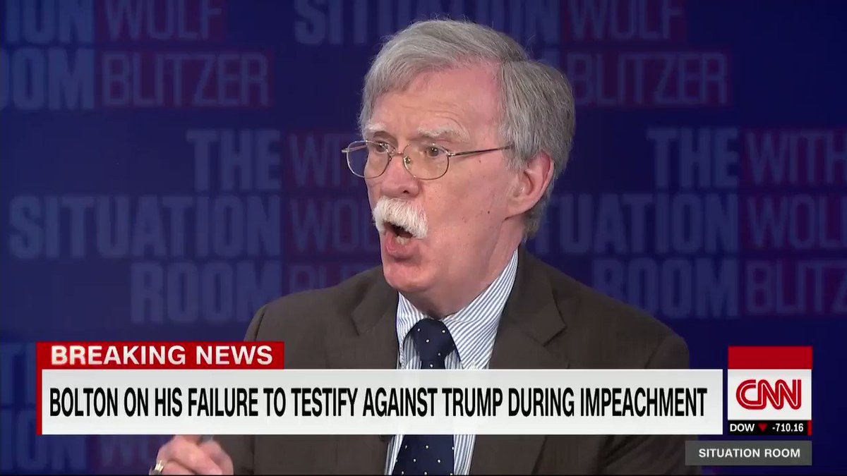"John Bolton says he ""probably would have voted to convict"" President Trump of high crimes and misdemeanors had he been a senator, but says he has no regrets or second thoughts about not testifying before Congress during the impeachment proceedings."