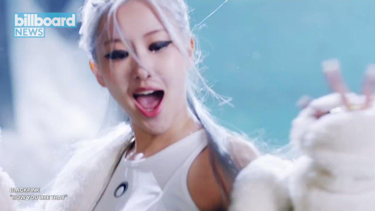 "Blackpink debuted their long-awaited comeback single ""How You Like That."" #BillboardNews"
