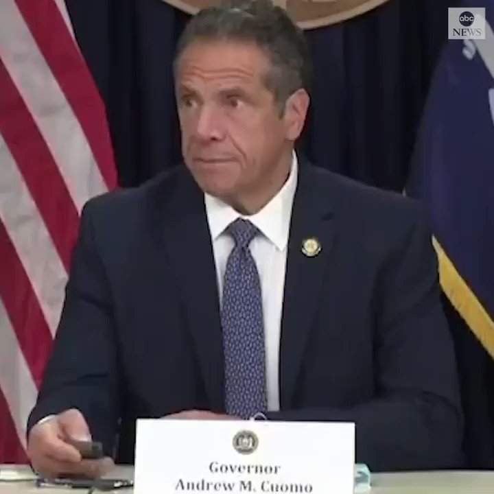 """""""Reality wins every time.""""  New York Gov. Andrew Cuomo delivers a searing rebuke of Pres. Trump's handling of the COVID-19 outbreak as cases surge across the country. """"Admit you were wrong...and we have to start doing something about this."""""""