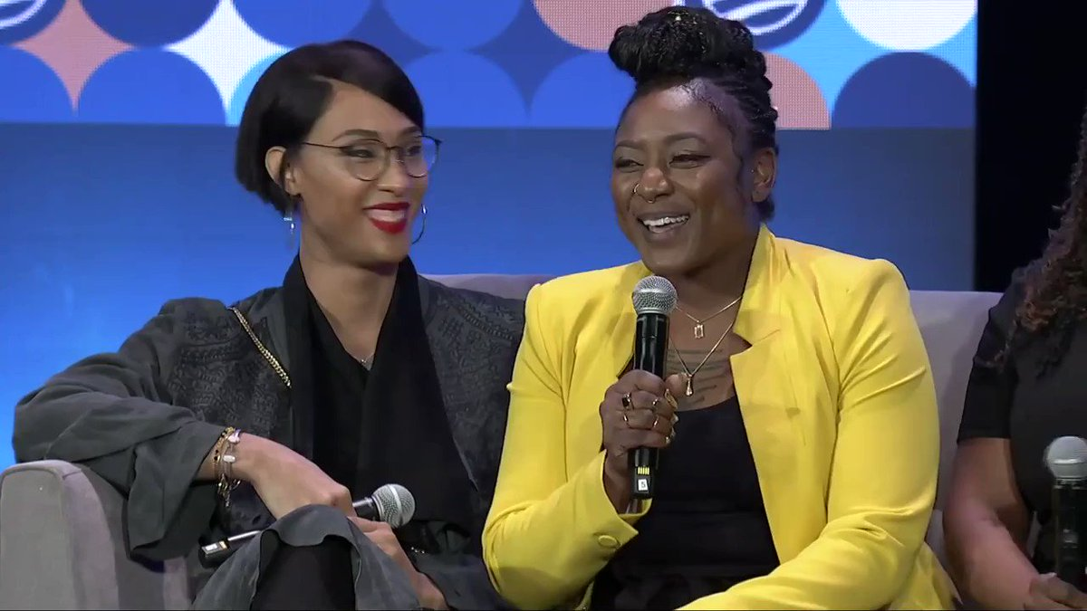 """""""I want to be with you, I want to be connected to you—but I don't want to be there as an afterthought.""""—@aliciagarza at MBK Rising! on being more inclusive of queer people.  Although #PrideMonth has come to end, let's continue to ensure our LGBTQ+ family is always cherished."""