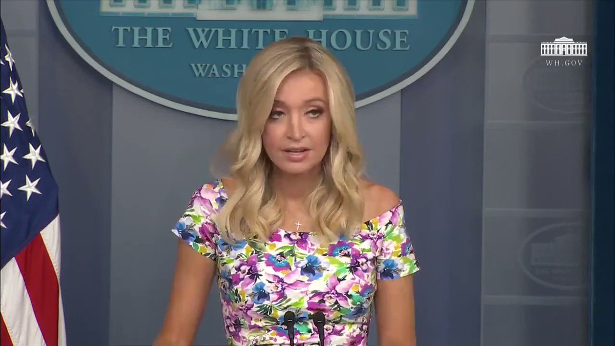 White House Press Secretary @KayleighMcEnany on the USMCA going into effect today: This is a massive win and a reversal of decades of failed U.S. policy (we're looking at you, @JoeBiden)
