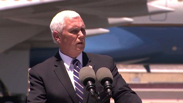"""VP Mike Pence: """"I couldn't be more proud of our nation's response to the coronavirus pandemic."""""""