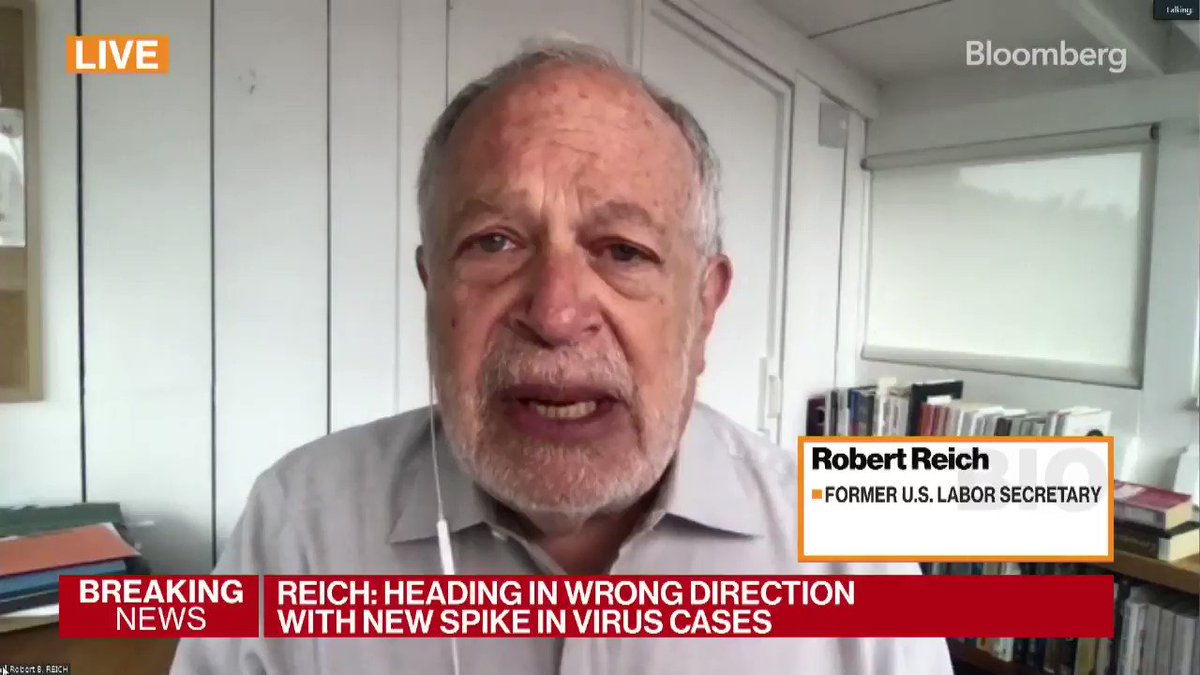 Former U.S. Labor Secretary Robert Reich says the U.S. government and OSHA are dropping the ball right now when it comes to protecting American workers.