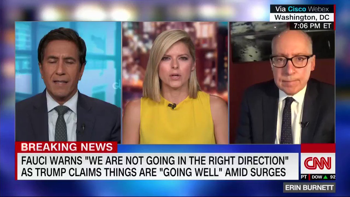 """""""The data and the numbers don't lie,"""" says Dr. Sanjay Gupta about the surge in Covid-19 cases in the US. """"The United States is the worst-hit country in the world when it comes to coronavirus."""""""