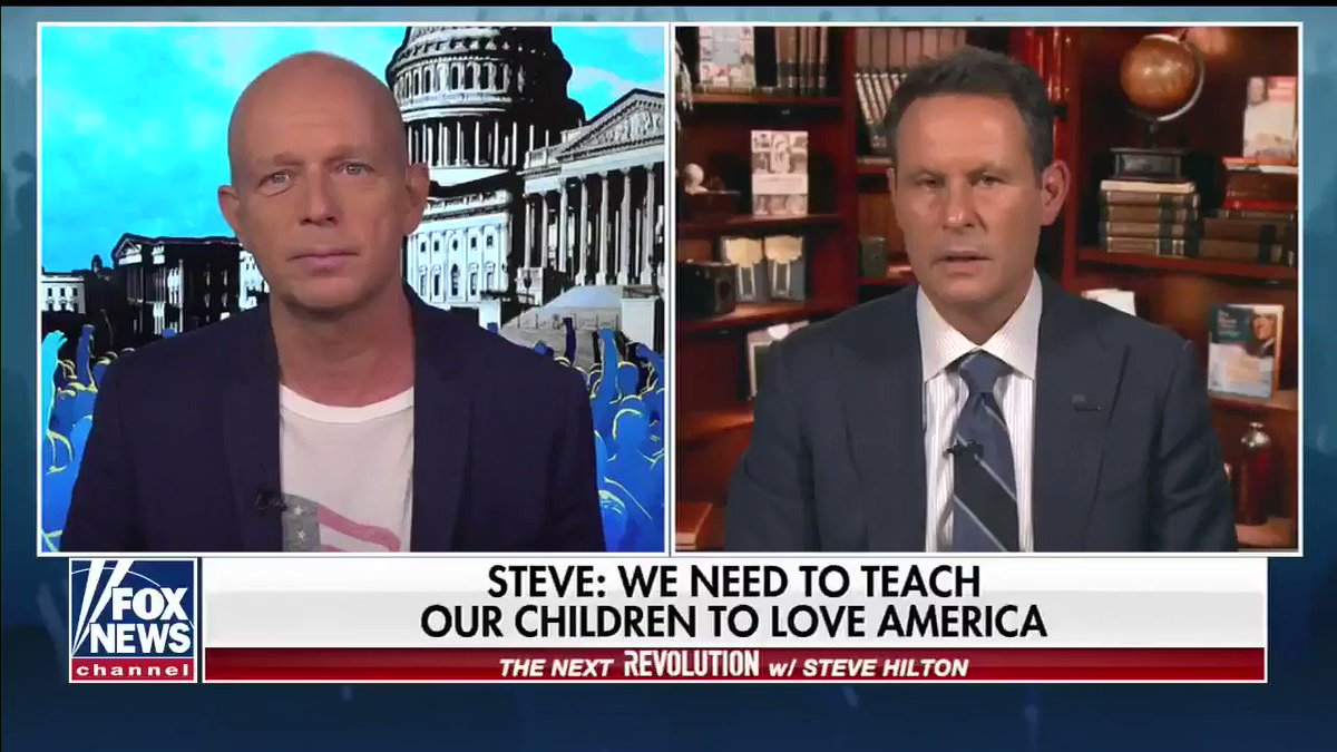 PART OF OUR STORY -- Brian @Kilmeade on how American history is taught in schools...  #NextRevFNC #PositivePatriotism