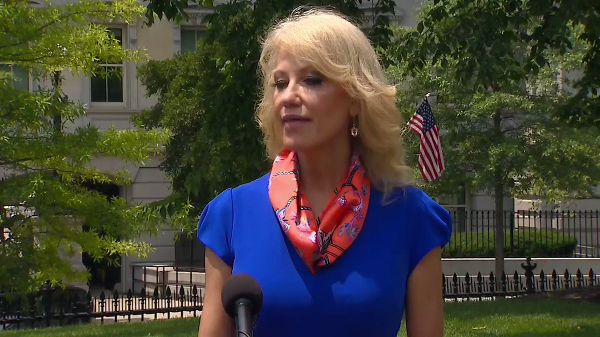 "Kellyanne Conway: ""Joe Biden... has a record and a lot really creepy statements, actions for sure, but statements that he's made in the past that make me very uncomfortable, certainly as a mother but as a person who breathes air and exercises brain capacity."""