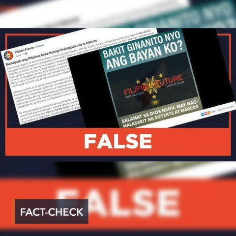 A video claiming the Philippine economy got worse after the People Power Revolution.. is FALSE. Read the full #FactCheck on