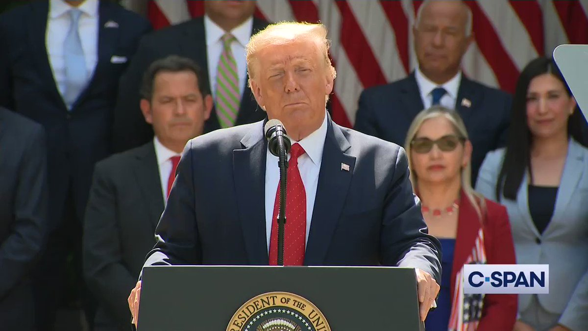 "Pres. Trump on school choice & charter schools: ""As long as I'm president I will never let your charter schools be taken away from you, be taken down, I will never let you down. I will never let Hispanic American or any American down. That I can tell you."""